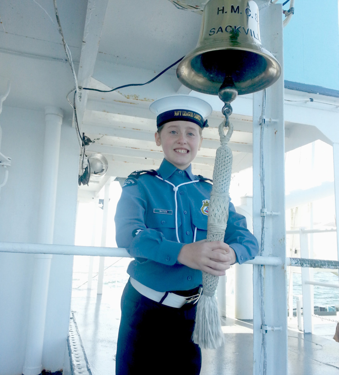 Happy Volunteer | NL Cadet Watson