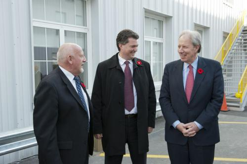 Naming of HMCS Sackville Building at Irving Shipbuilding