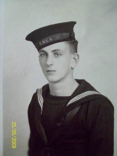 OS William Thomas Harrison HMCS Georgian